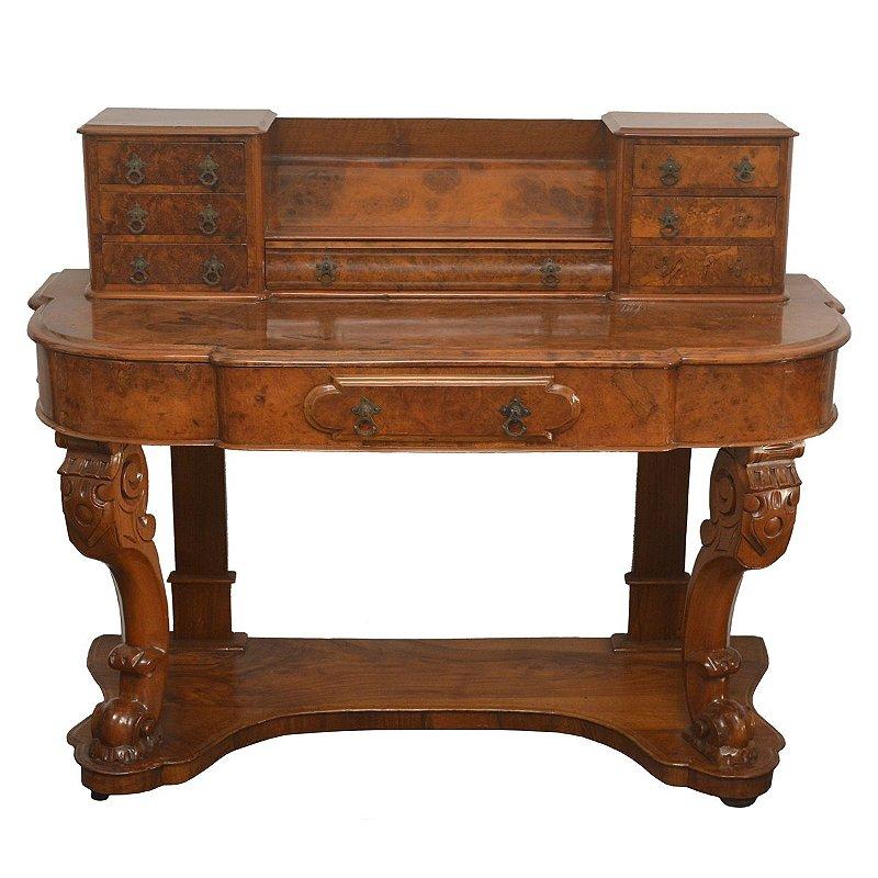 Escrivaninha Inglesa antiga de época