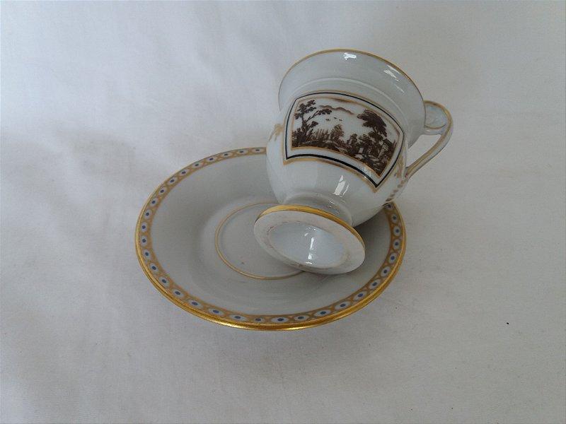 Caneca de chá de porcelana importada
