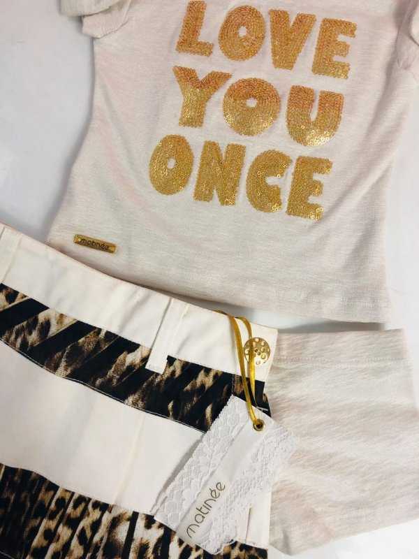 Conjunto Love You Once
