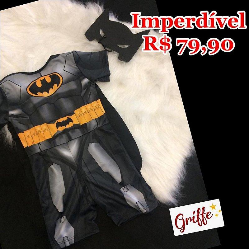 Macacão Fantasia Batman