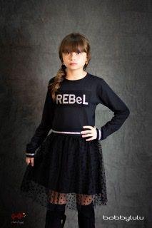 Vestido Rebelde Com Transparência