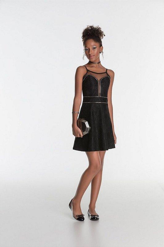 Vestido Royal Black