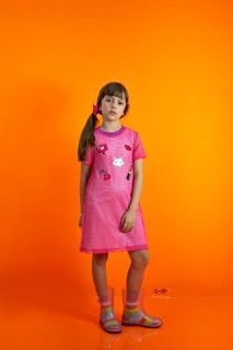 Vestido Sobreposição Rosa