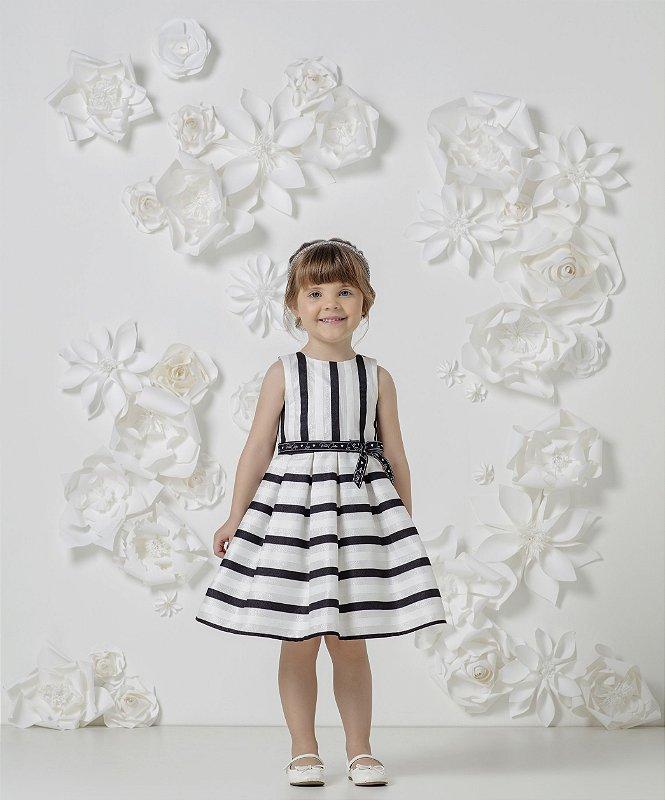 Vestido Princesa Listras