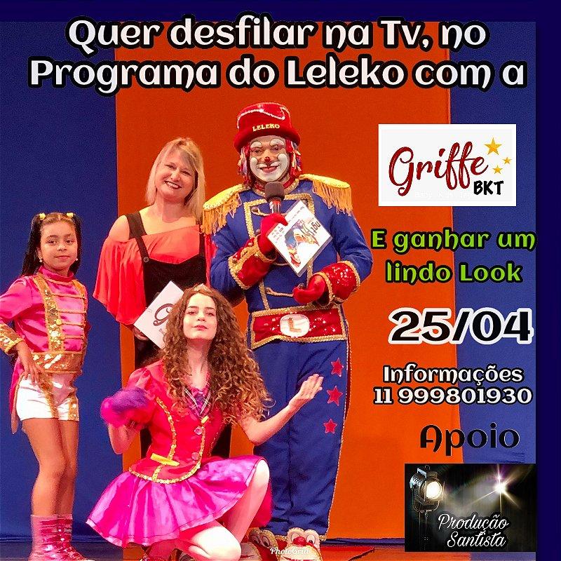 Desfile na TV com a Griffe ( convite ) direito a desfile e look