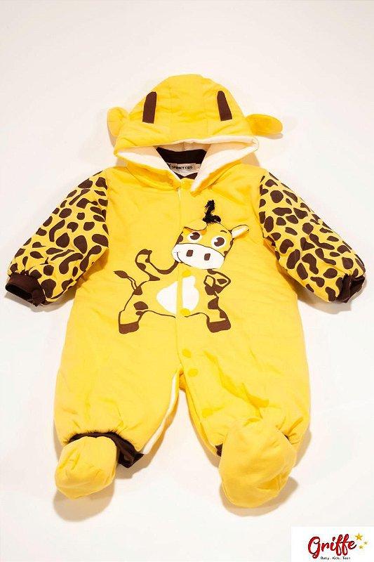 Macacão Baby Girafa