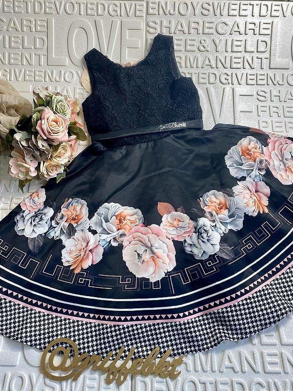 Vestido Petit cherie estampado  flores