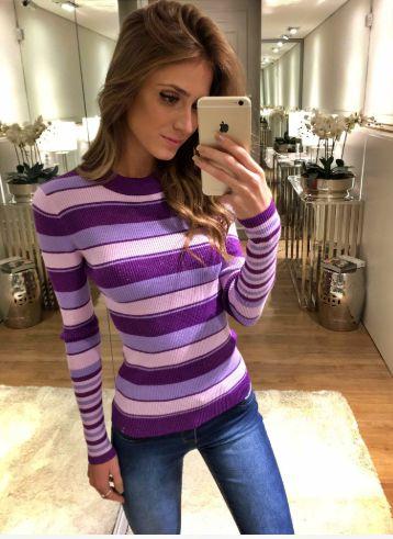 Blusa Tricot Lauren Ave Rara Fashion