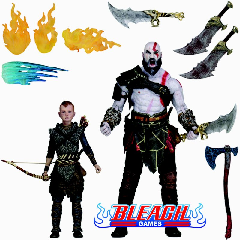 BONECO NECA GOD OF WAR ULTIMATE ACTION FIGURE 2 PACK - KRATOS & ATREUS