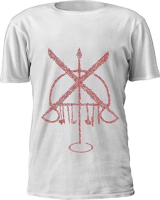 Camiseta Ogum Vermelho