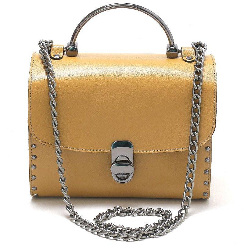 Bolsa Mary Caramelo