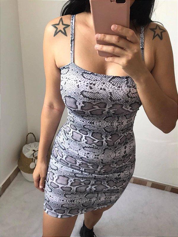 Vestido Cobra Inspiração SHEIN