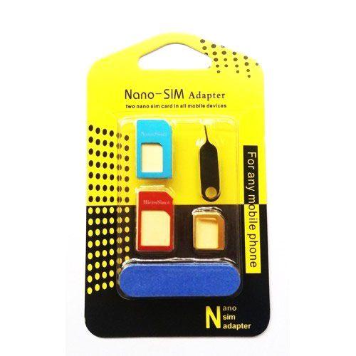 Adaptador para Chip de Nano Micro Normal Feito em Metal