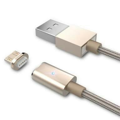 Cabo de Dados Magnético para iPhone 5c-5s-6-6Plus-Ipad-Ipod Cores Sortidas