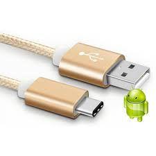Cabo de Dados USB Tipo C em Nylon Cores Sortidas
