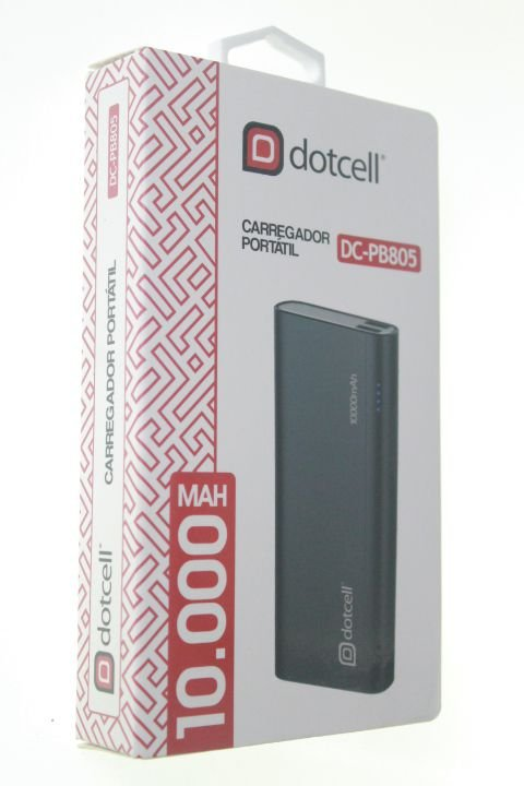 Carregador Portátil Power Bank Dotcell 10000 Mah DC-PB805