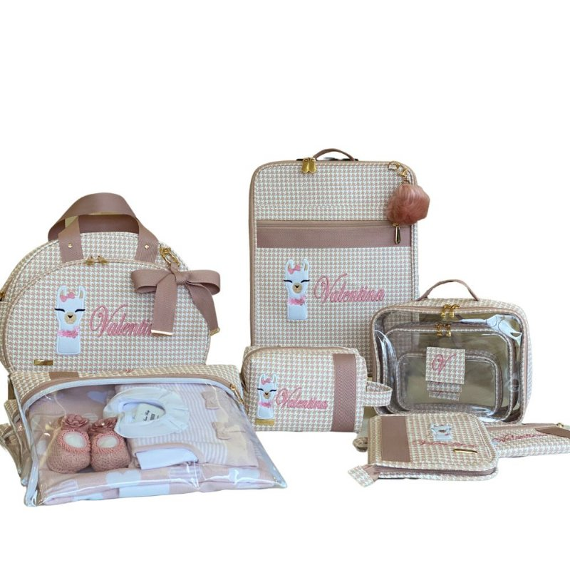 Kit Maternidade Lhama Personalizado
