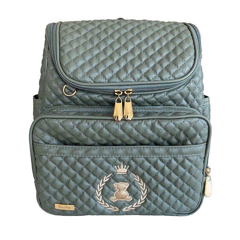 Mochila Maternidade Bag Linha Luxo Verde