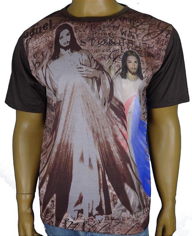 jesus misericordioso Marrom