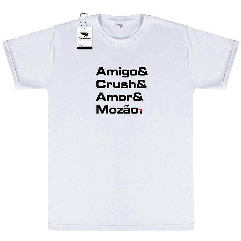 Camiseta Masculina, Amigo e Crush