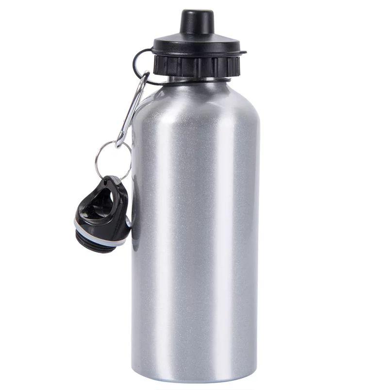 Squeeze Alumínio Prata 600ml - Darosaa