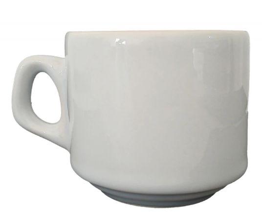 Xicara Porcelana Personalizada 180ml - Darosaa