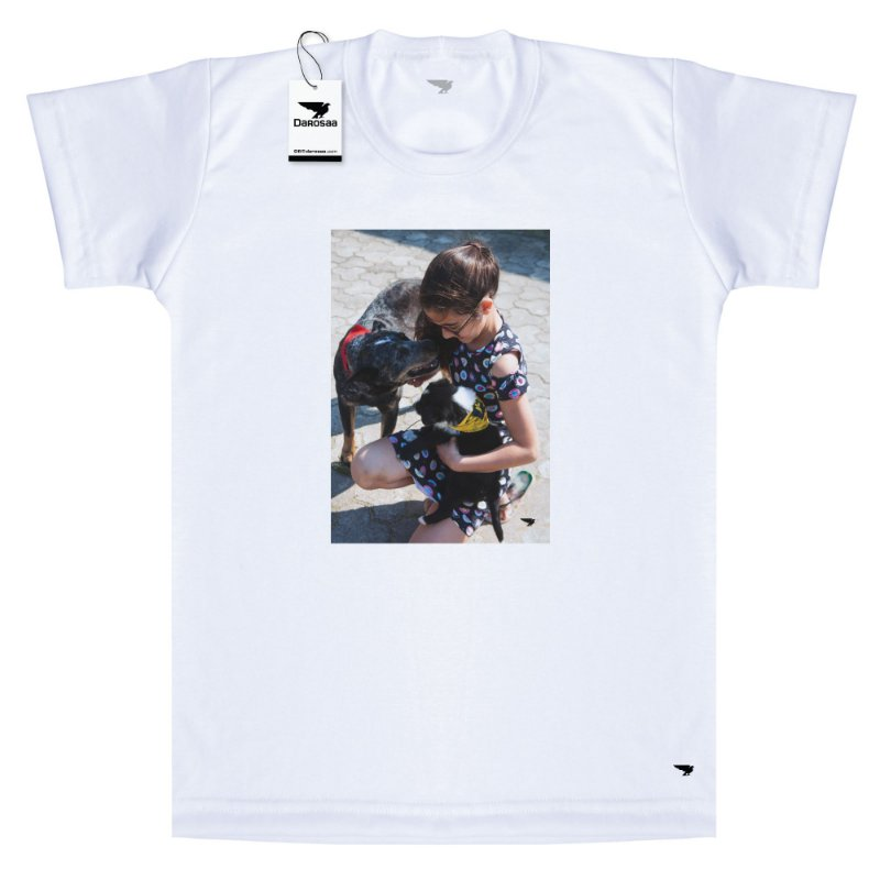 Camiseta Infantil Seu Pet Personalizada
