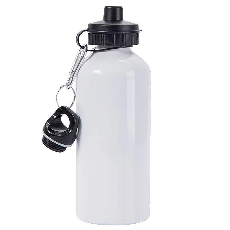Squeeze alumínio, Branca 600ml