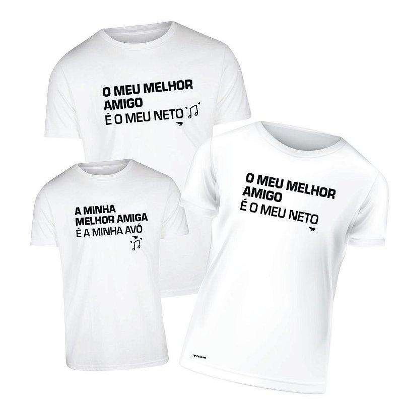 Camiseta Kids 1, Avó 1. Avô 1
