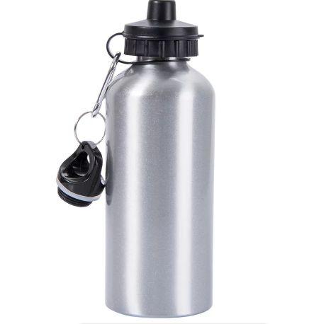 Squeeze alumínio, Prata 600ml