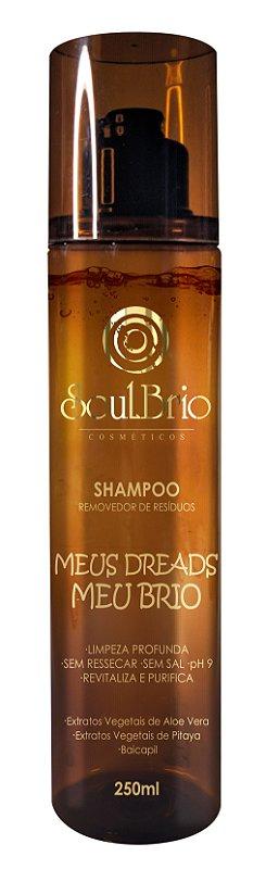Shampoo Removedor de Resíduos Meus Dreads Meu Brio - Fragrância de Ervas
