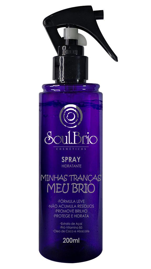 Spray Hidratante Minhas Tranças Meu Brio - Fragrância Cítrica
