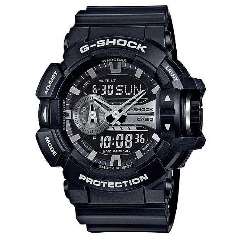 0307b947803 Relógio Unissex Casio G-Shock GA-400GB-1A Preto - Mimports - Produtos e  perfumes importados exclusivos para você