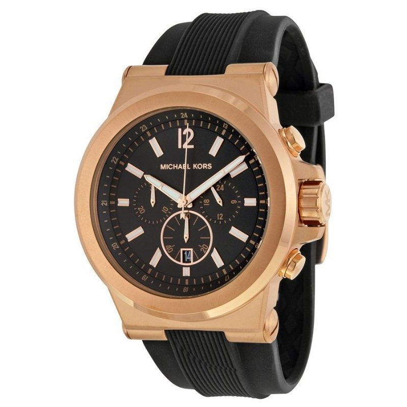 Relógio Masculino Michael Kors MK8184 Preto - Mimports - Produtos e ... 1368ed3514
