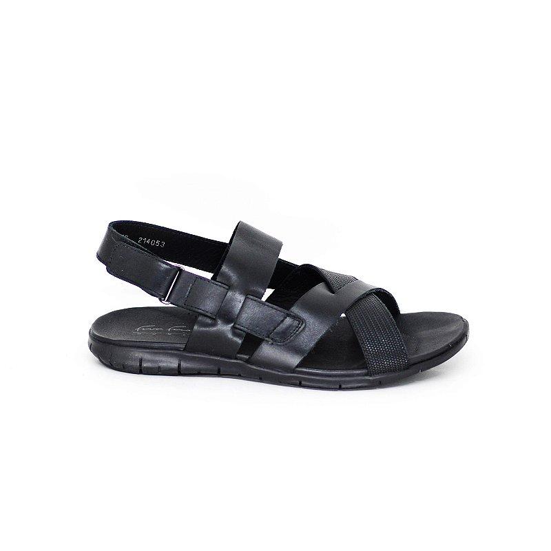 Sandália de Couro em Tiras
