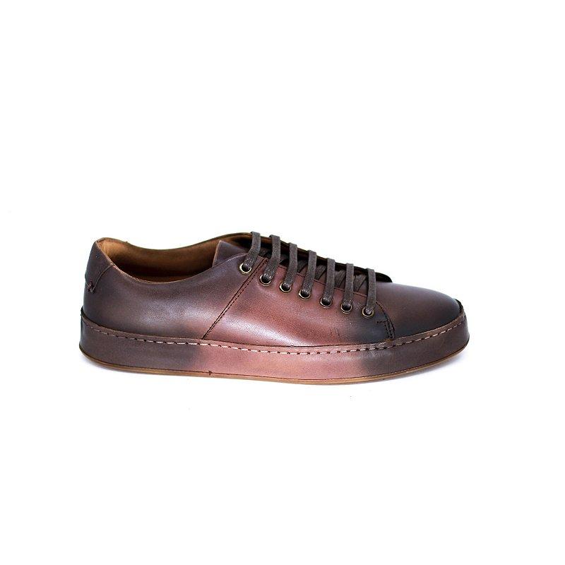Sapato Casual com Degradê