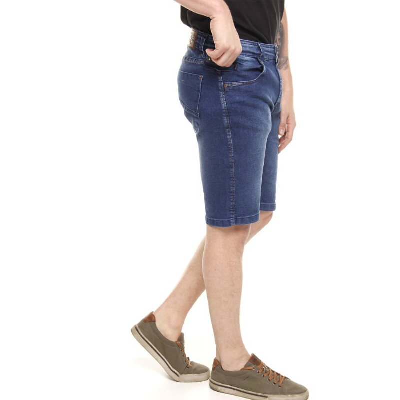 bermuda jeans prs azul estonada