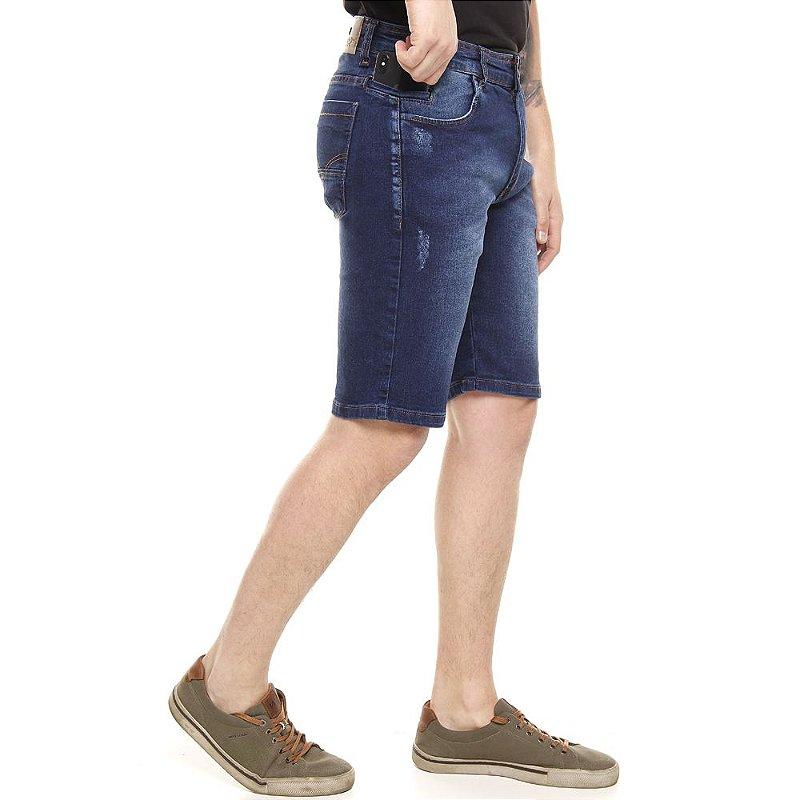 bermuda jeans prs azul escura estonada