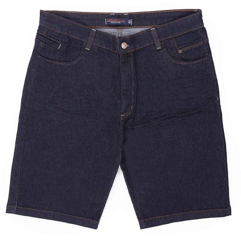 Bermuda jeans plus size prs bordado