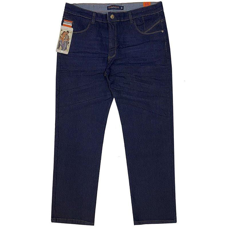 calça jeans prs plus size escura
