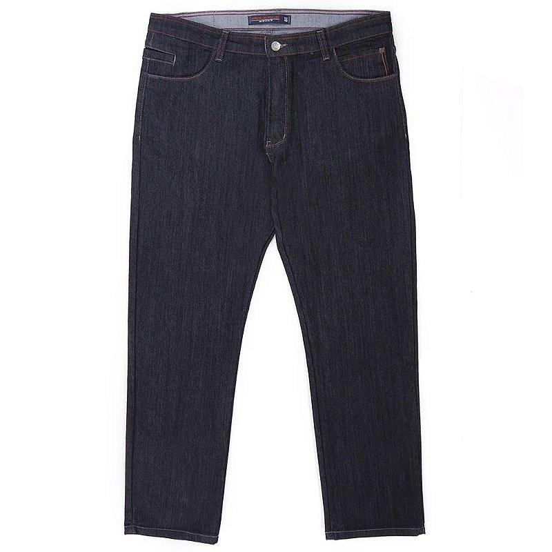 Calça jeans prs plus size amaciada