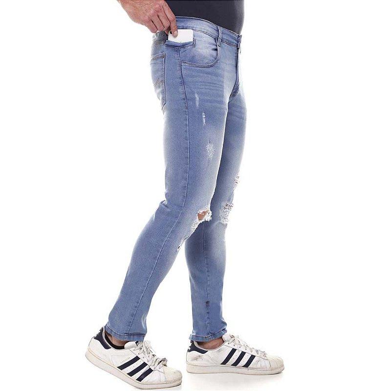 calça jeans prs skinny clara