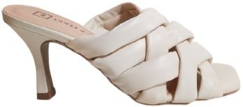 Sandalia Tamanco Off White Grazi