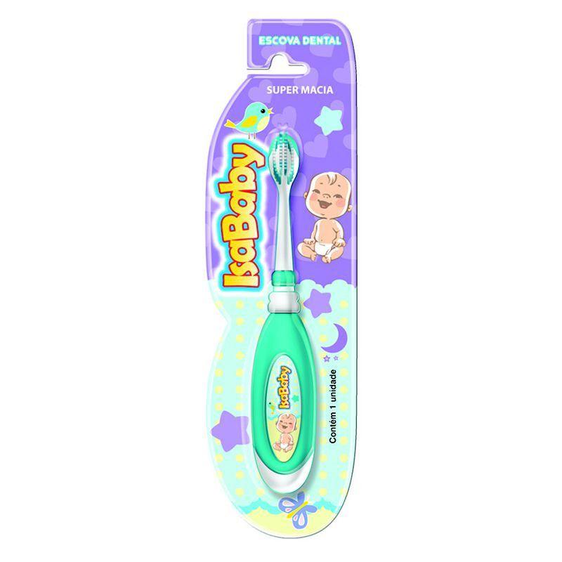 Escova Dental IsaBaby Super Macia ( Indicado a partir dos 2 anos )