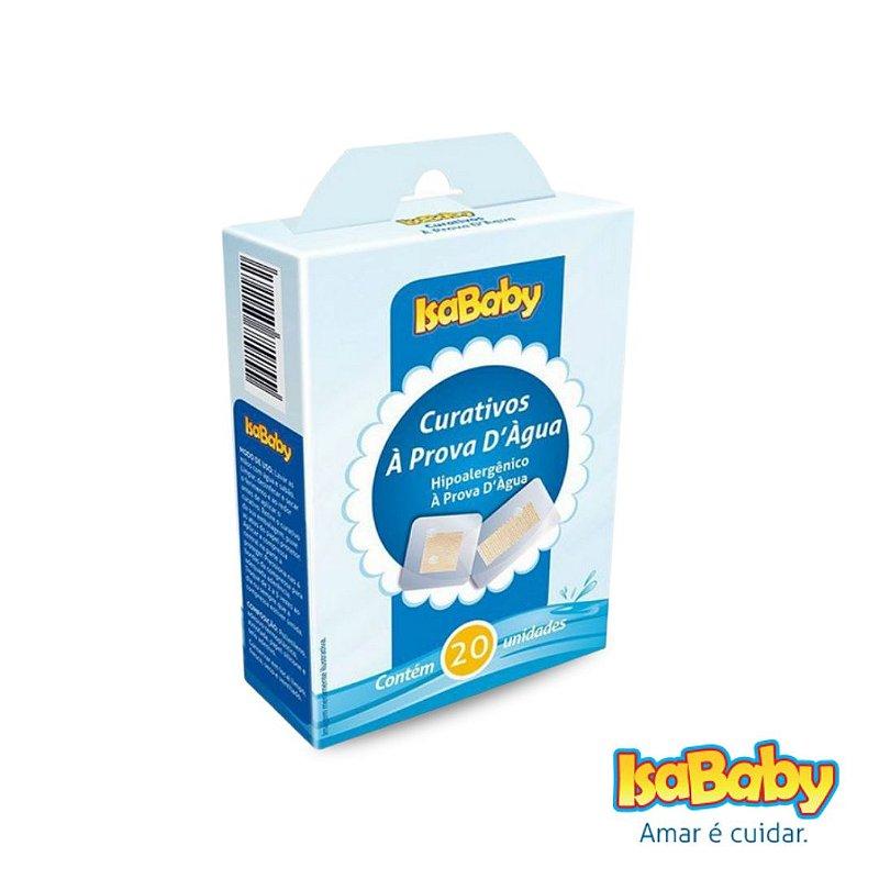 Curativo IsaBaby à Prova D'água 20 Unidades (é flexível e elástico)