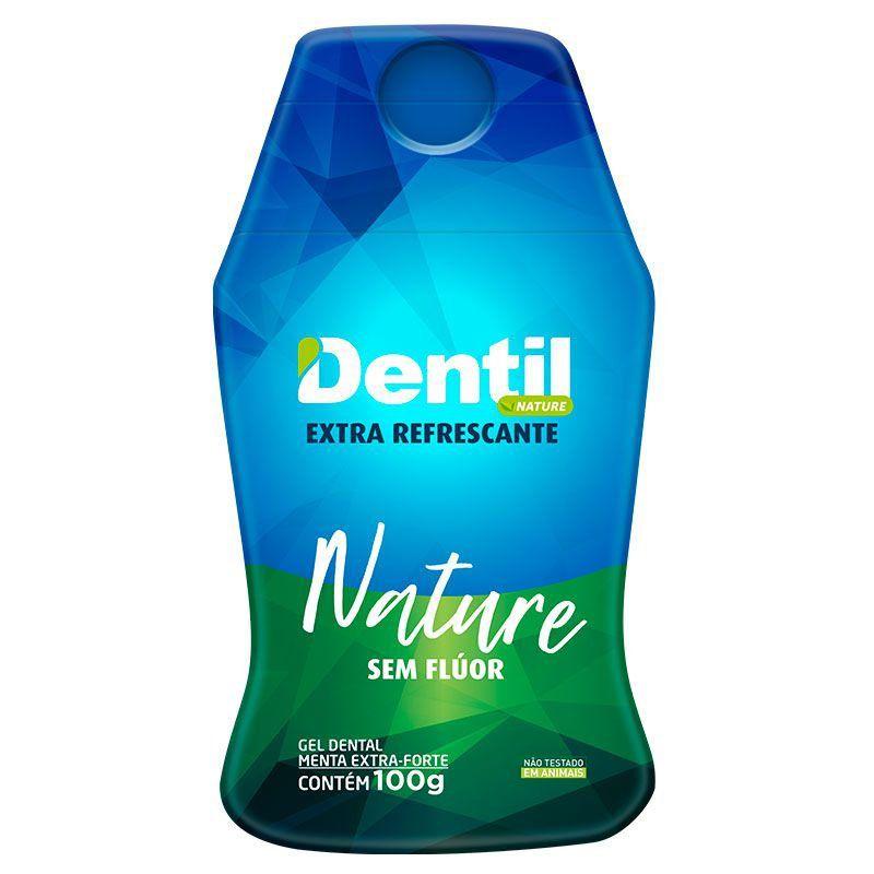 Gel Dental Dentil Nature Extra Refrescante c/Xilitol s/Flúor 100grs
