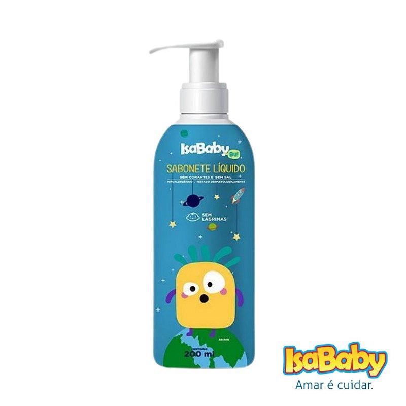 Sabonete Líquido IsaBaby Bu Azul 200ml ( Promove hidratação )...