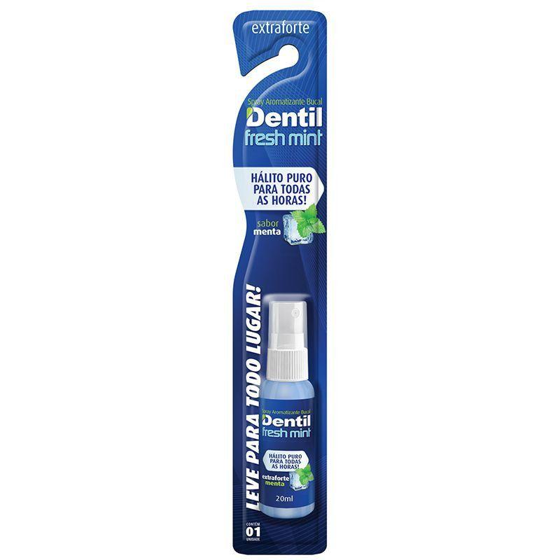 Spray Bucal Dentil Fresh Mint 20ml ( possui um sabor de menta )...