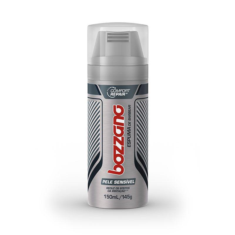 Espuma De Barbear Para Pele Sensível Comfort Repair 150ml Bozzano