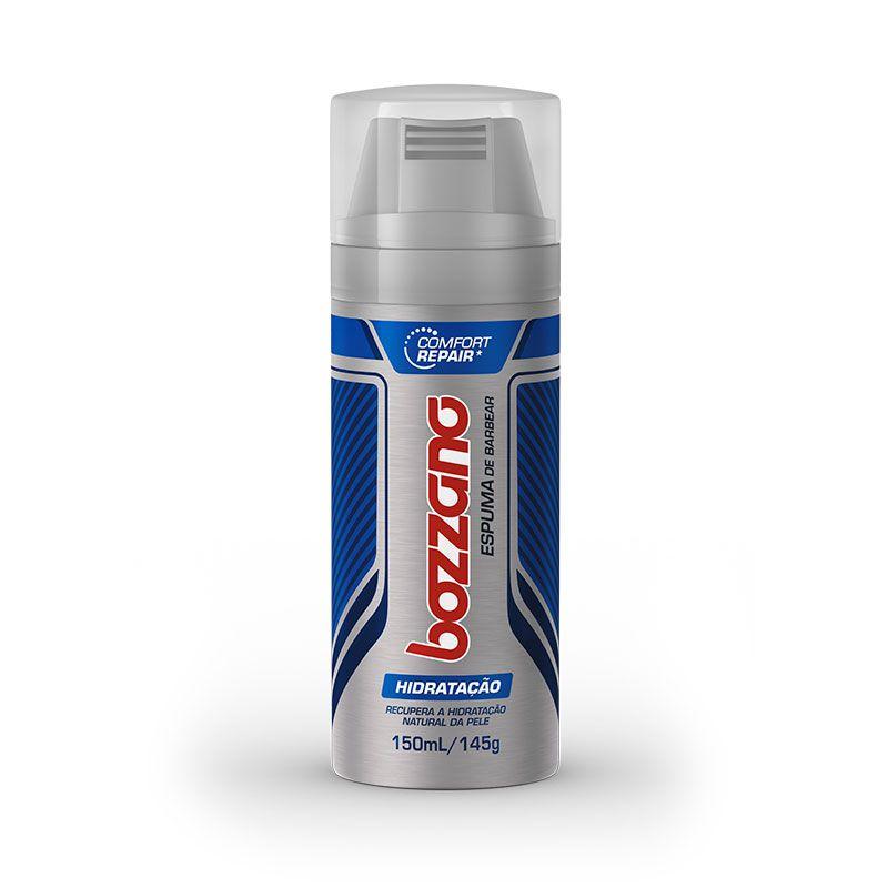 Espuma De Barbear Hidratação Confort Repair 150ml - Linha Bozzano